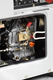 Генератор дизельный Hyundai DHY 6000SE-3